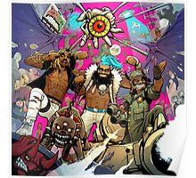 FlatBush Zombies - 3001: A laced odyssey Poster