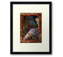 Steampunk Girl Framed Print