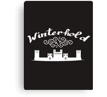 Skyrim 'Winterhold' Canvas Print