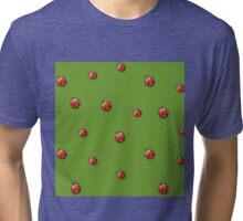 Ladybugs pattern Tri-blend T-Shirt