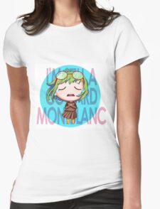Gumi Megpoid - Coward Montblanc Womens Fitted T-Shirt