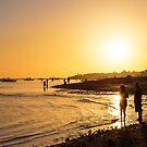 Golden Tropics Hot Beach Sun by Bo Insogna