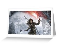 Tomb Raider Lara Croft Greeting Card