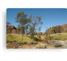 Joe Mortelliti Gallery - Purnululu National Park, or Bungle Bungle, Kimberley, Western Australia. Canvas Print