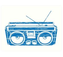 radio child of the eighties 1980 back to the future Art Print