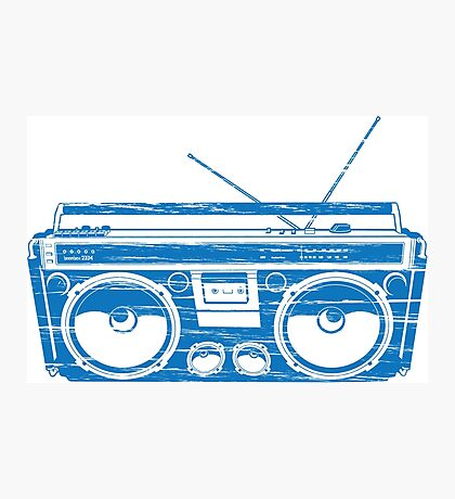 radio child of the eighties 1980 back to the future Photographic Print