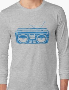 radio child of the eighties 1980 back to the future Long Sleeve T-Shirt