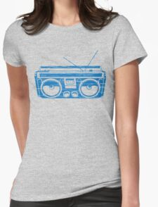 radio child of the eighties 1980 back to the future Womens Fitted T-Shirt