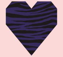 0321 Indigo or Indigo (WWW) Tiger Kids Tee