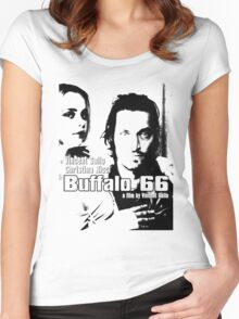 BUFFALO 66 - VINCENT GALLO Women's Fitted Scoop T-Shirt