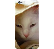 Little Lucy Folding Towels iPhone Case/Skin