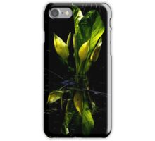 Reflecting Lily iPhone Case/Skin