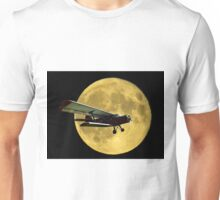 Flying by the moon Unisex T-Shirt