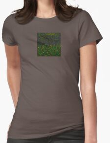 """""""Daffodils"""" Womens Fitted T-Shirt"""