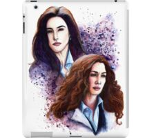 Agents Bering & Wells iPad Case/Skin