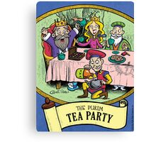 Purim Tea Party Canvas Print
