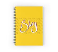 iSlay | White on Black | Spiral Notebook