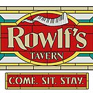 """Rowlf's Tavern """"Come. Sit. Stay."""" by Kenny Durkin"""