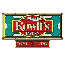 "Rowlf's Tavern ""Come. Sit. Stay."" Photographic Print"