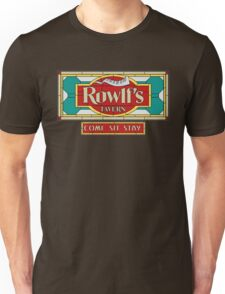 "Rowlf's Tavern ""Come. Sit. Stay."" Unisex T-Shirt"