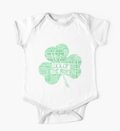 LUCK OF THE IRISH Shamrock One Piece - Short Sleeve