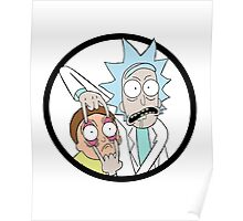 Rick And Mortyy Poster