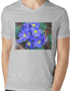 periwinkle primrose II Mens V-Neck T-Shirt