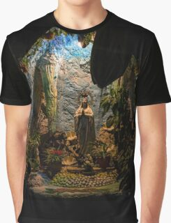 Holy Virgin Mary Grotto Graphic T-Shirt