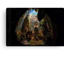 Holy Virgin Mary Grotto Canvas Print