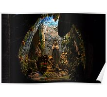 Holy Virgin Mary Grotto Poster