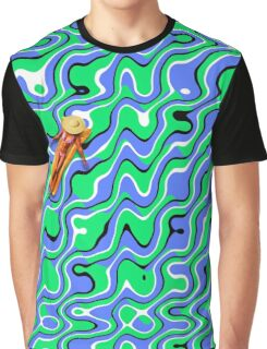 Placid Waves Graphic T-Shirt