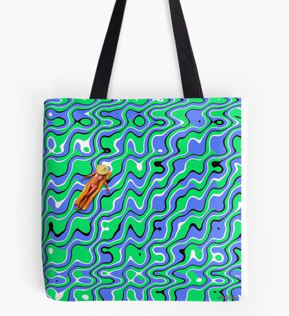 Placid Waves Tote Bag