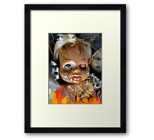 Evil Doll Framed Print