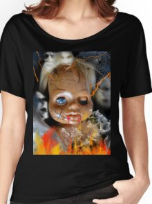 Evil Doll Women's Relaxed Fit T-Shirt