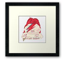 Piggy Stardust and the Spiders From Myeeehh Framed Print