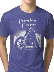RUMBLE FISH - MICKEY ROURKE Tri-blend T-Shirt