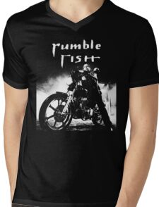 RUMBLE FISH - MICKEY ROURKE Mens V-Neck T-Shirt
