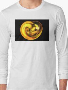 Gold Lava Long Sleeve T-Shirt