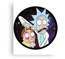 Rick and Mortyy 2. Canvas Print