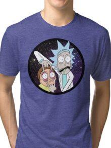 Rick and Mortyy 2. Tri-blend T-Shirt