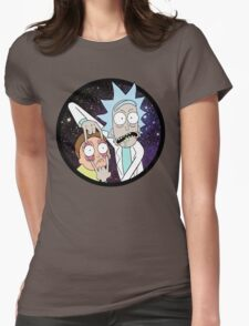 Rick and Mortyy 2. Womens Fitted T-Shirt
