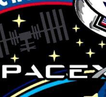 NASA's CRS-4 Logo Sticker
