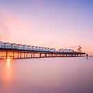 Herne Bay Sunset by Ian Hufton
