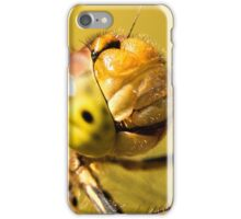 Smiling Dragonfly Portrait iPhone Case/Skin