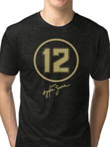 Senna #12 Tri-blend T-Shirt