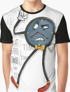 Don't Hug Me I'm Scared - TIME Graphic T-Shirt