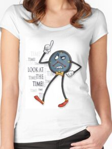Don't Hug Me I'm Scared - TIME Women's Fitted Scoop T-Shirt