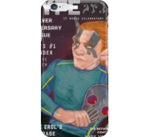 Erol on the cover of NYFE Magazine  iPhone Case/Skin