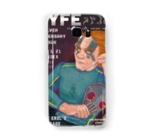 Erol on the cover of NYFE Magazine  Samsung Galaxy Case/Skin