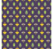 Insecta Geometrica - Geometric Insects Pattern Photographic Print